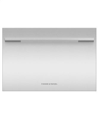 Integrated Single DishDrawer Dishwasher, Sanitize