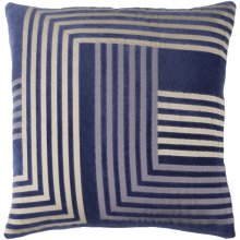 "Intermezzo INE-003 20"" x 20"" Pillow Shell with Polyester Insert"