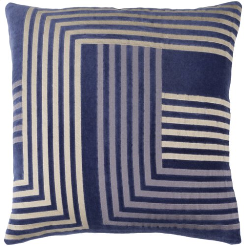 "Intermezzo INE-003 18"" x 18"" Pillow Shell with Polyester Insert"