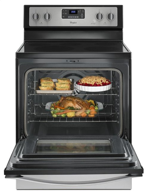 CLOSEOUT - 5.3 Cu. Ft. Freestanding Electric Range with High-Heat Self-Cleaning System