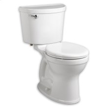 White Champion PRO Right Height Round Front Toilet
