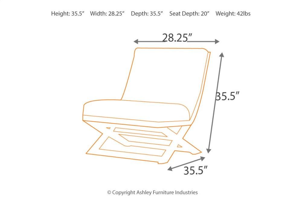 Hidden · Additional Showood Accent Chair
