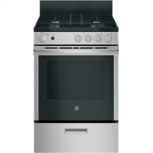 "GE® 24"" Steam Clean Free-Standing/Slide-in Gas Range"