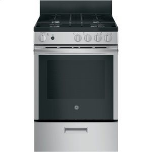 "GEGE(R) 24"" Steam Clean Free-Standing/Slide-in Gas Range"