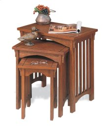 """""""Mission Oak"""" 3-Pc. Nested Tables"""