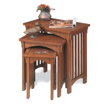 """Mission Oak"" 3-Pc. Nested Tables"