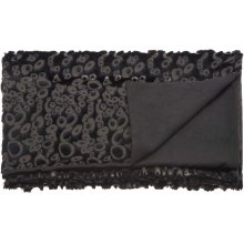 "Fur N9510 Black 50"" X 70"" Throw Blanket"