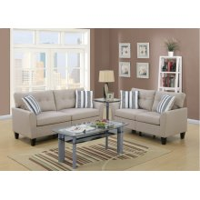F6534 / Cat.19.p37- 2PCS SOFA BEIGE