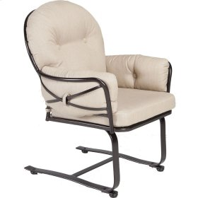 Spring Based Club Dining Arm Chair