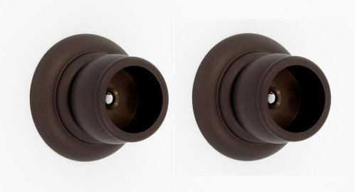 Charlie's Collection Shower Rod Brackets A6746 - Chocolate Bronze