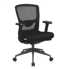 Executive Black Progrid® Back Chair