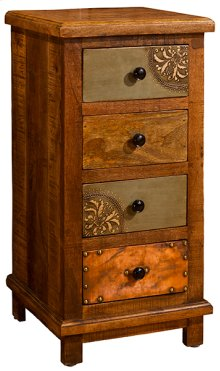 Belina Four Drawer Cabinet