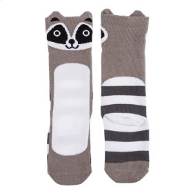 Raccoon Knee Socks Fits 0-24 Months.