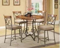 5-Pc. Hamilton Gathering Set - (1) 697-441 Gathering Table & (4) 697-430 Counter Stools Product Image