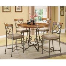 5-Pc. Hamilton Gathering Set - (1) 697-441 Gathering Table & (4) 697-430 Counter Stools