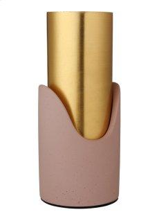 Pink Concrete Vase Product Image