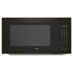 2.2 cu. ft. Countertop Microwave with 1,200-Watt Cooking Power - FINGERPRINT RESISTANT BLACK STAINLESS