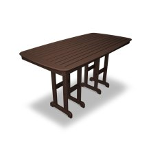 """Mahogany Nautical 37"""" x 72"""" Counter Table"""