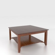 Square coffee table