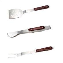 3-piece Premium Hardwood Handle Tool Set