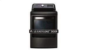7.3 cu. ft. Ultra Large Capacity TurboSteam Electric Dryer with EasyLoad Door Product Image