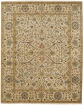 Yazzie Champagne Hand Knotted Rugs