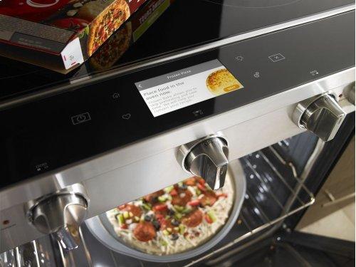 6.4 Cu. Ft. Smart Slide-in Electric Range with Frozen Bake Technology