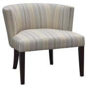 Maxwell Striped Lounge Chair Product Image