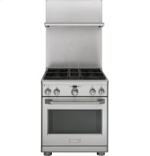 "GE Monogram® Professional 30""- 36"" Adjustable Backsplash with Warming Shelf"