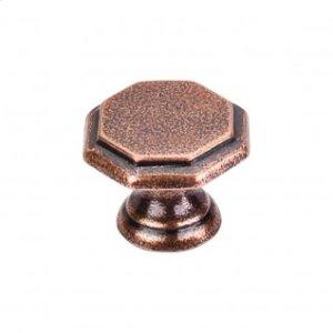 Devon Knob 1 1/4 Inch - Old English Copper