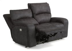 Rhapsody Fabric Power Reclining Loveseat with Power Headrests Product Image