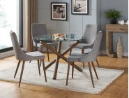 Rocca/Cora 5pc Dining Set Product Image