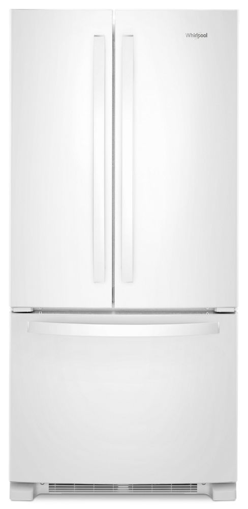 Incroyable WHIRLPOOL 33 Inch Wide French Door Refrigerator   22 Cu. Ft.