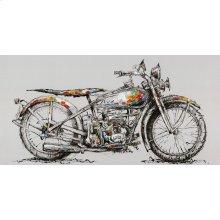 Motorbike Wall Décor