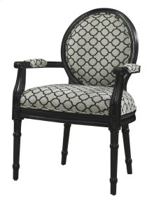 Black Link Ghost Chair