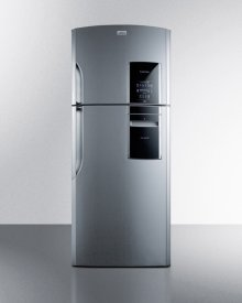 Counter Depth 18 CU.FT. Frost-free Refrigerator-freezer With Icemaker In Platinum, Part of the Ingenious Series Designed for True User Convenience