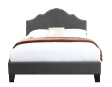 Emerald Home Madison Upholstered Bed Kit King Charcoal B131-12hbfbr-13