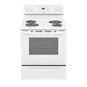 30'' Electric Range - WHITE