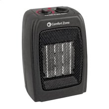 CZ442 Ceramic Electric Portable Fan-Forced Heater, Black