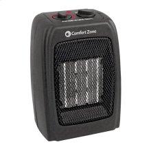 CZ442 Ceramic Electric Portable Fan-Forced Heater, Black