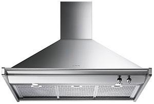 "Smeg90 Cm (Approx. 36""), Ventilation Hood, Stainless Steel"