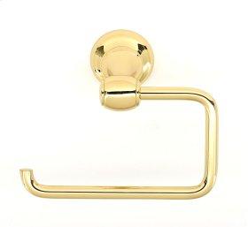 Royale Single Post Tissue Holder A6666 - Polished Brass