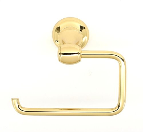 Royale Single Post Tissue Holder A6666 - Polished Brass