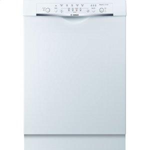 Bosch23 5/8 '' Recessed Handle Dishwasher Ascenta- White SHE3AR52UC