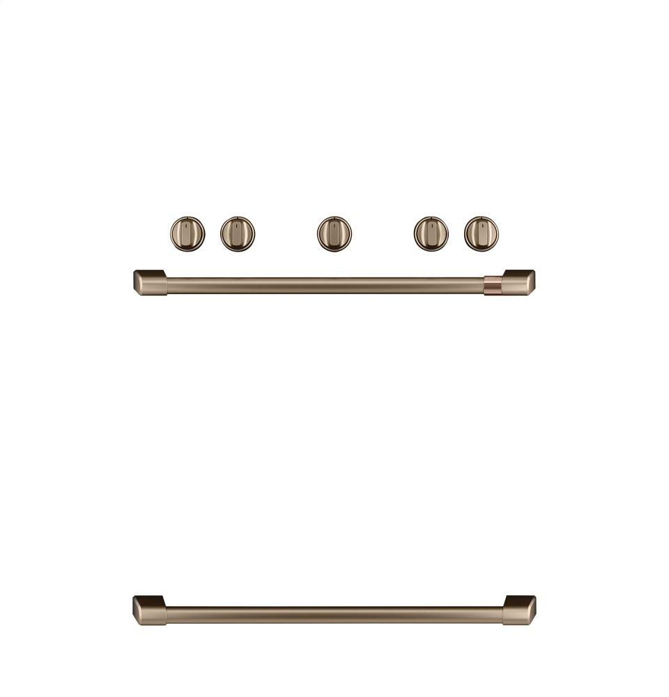 Caf(eback) Freestanding Gas Knobs and Handles - Brushed Bronze  BRUSHED BRONZE