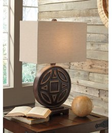 Timber and Tanning Wood Table Lamp (1/CN)