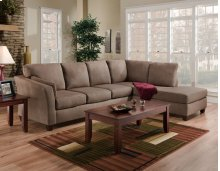 7900 - Glacier Dark Brown 2-Piece Sectional