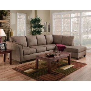 American Furniture Manufacturing7900 - Glacier Dark Brown Sectional