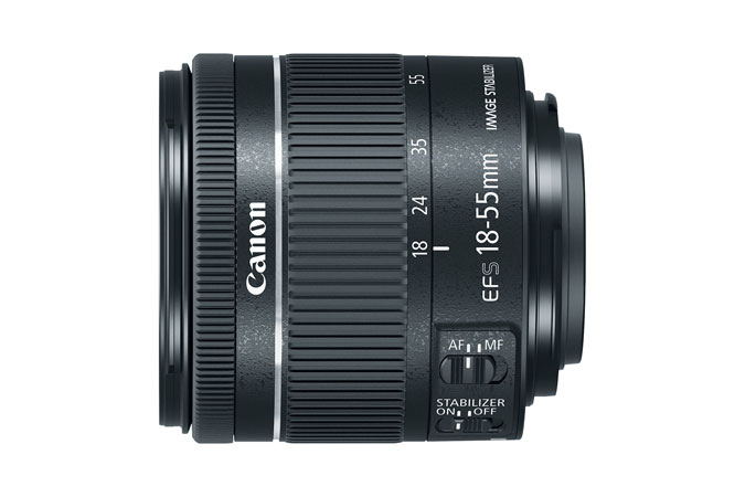 Canon EF-S 18-55mm f/4-5.6 IS STM Standard Zoom