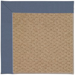 Creative Concepts-Raffia Canvas Sapphire Blue Machine Tufted Rugs